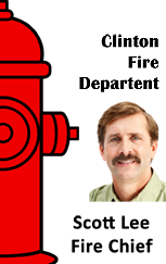 Firefighter ID badge, red fire hydrant.