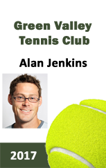 Tennis club ID card for members.